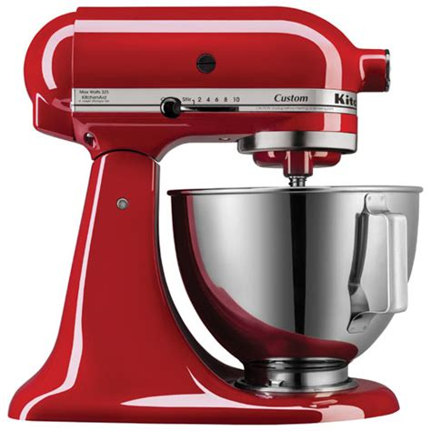 kitchen aid stand mixer kitchenaid custom stand mixer 4 5qt 325 watt empire