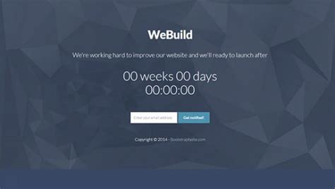 templates bootstrap countdown 25 best coming soon html templates for free download and