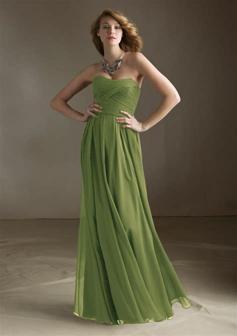 Long Luxe Chiffon Bridesmaid  Ee  Dress Ee   Morilee