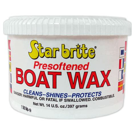 boat antifouling wax care boat care products starbrite boat wax 396grm
