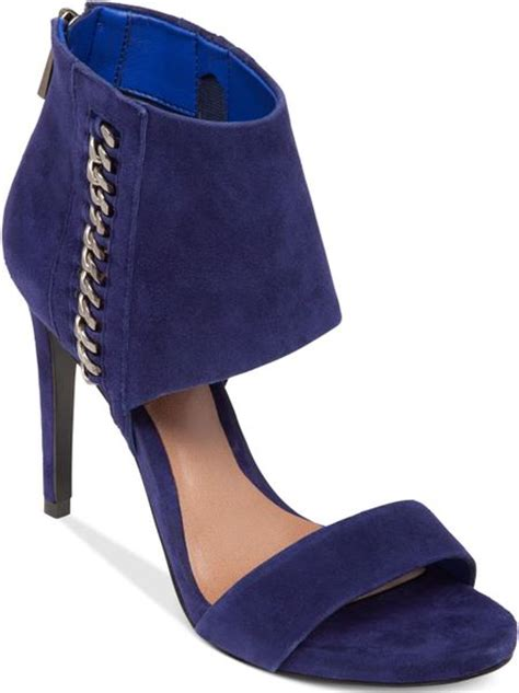 vince camuto blue shoes vince camuto freya high heel sandals in blue blue suede