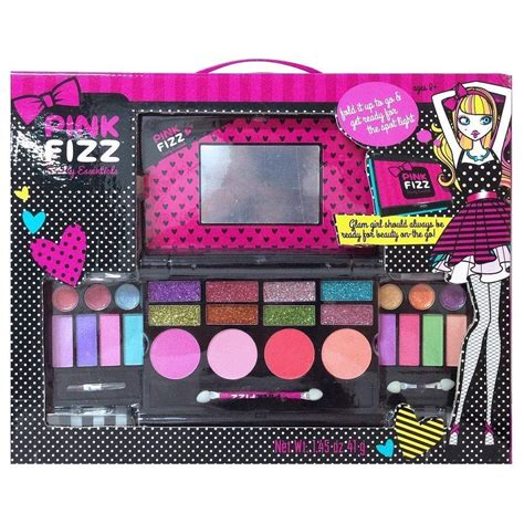 Makeup Palette Makeover pink fizz makeup deluxe palette mirror eyeshadow lip