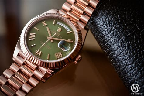 date on day rolex day date 60th anniversary edition the president s