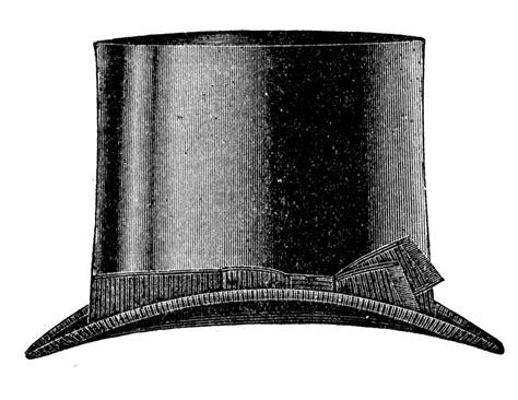 vintage clip art men s hats derby top hat the