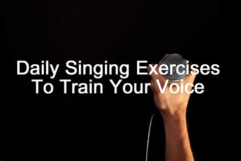 daily singing exercises copy singing community