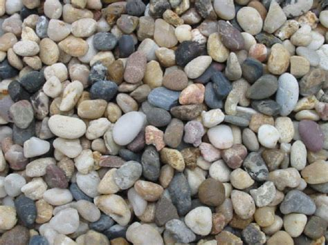 backyard pebble gravel natural design by garden pebbles