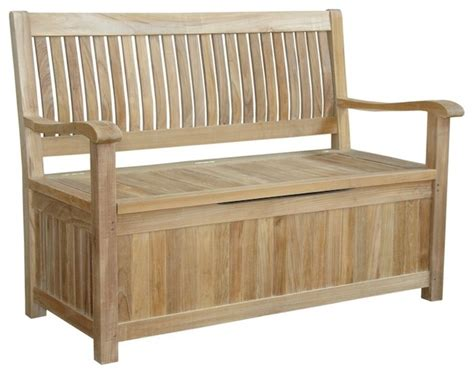 accent bench with storage anderson teak del amo storage bench accent and storage