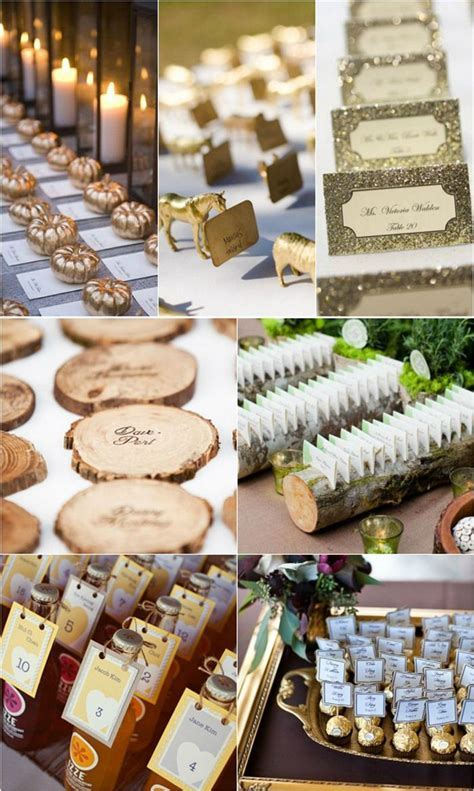 Top 25 Creative Wedding Escort Card Ideas in 2019   Member