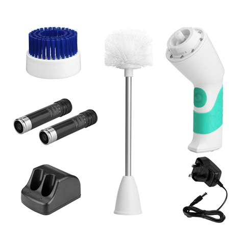 electric bathroom cleaning brush electric cordless toilet scrubber brushes bathroom