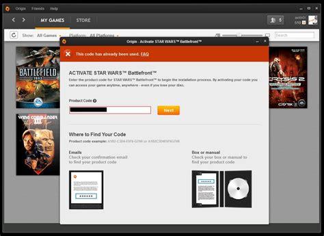 Wars Battlefront Standard Edition Original Origin Cd Code Only keygen wars battlefront clusalup