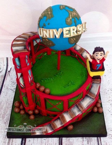 Chocolate Coaster It Or It by Zac Roller Coaster Birthday Cake The Cake Is An 8