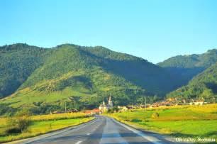 valley landscape beautiful romania landscape olt valley carpathian