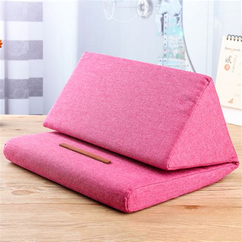 tablet pillow stand foldable tablet pillow holder book rest stand foam