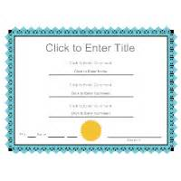 Smartdraw Certificate Templates by Certificate Templates