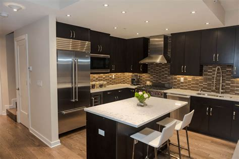 Dark Cabinet Kitchen by 52 Dark Kitchens With Dark Wood And Black Kitchen Cabinets