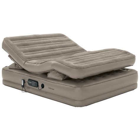 queen size air bed wenzel 174 queen sized insta flex 2 airbed sand