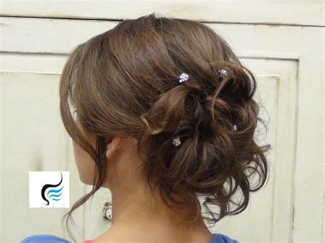 soft updo hairstyles for mother s soft curled updo for long hair prom or wedding hairstyle