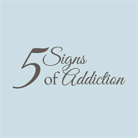 Silver Pines Detox Center by 5 Signs Of Addiction Silver Pines Treatment Center Pa