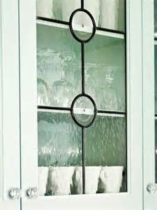Leaded Glass Kitchen Cabinet Doors by Glass Front Cabinetry
