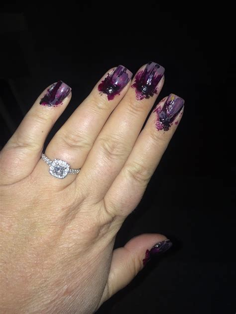 Zombie Nails   Engagement Ring   Weddingbee