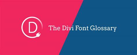 font design glossary divi font glossary web design wordpress indianapolis