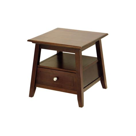 walnut accent table angolo end table antique walnut in accent tables
