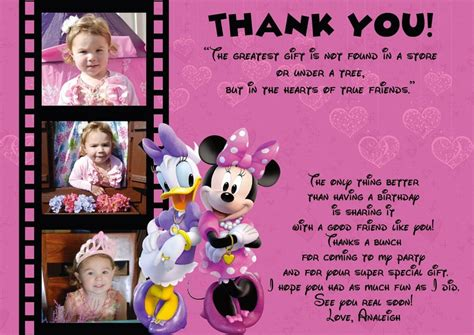 Thank You Card Wording Birthday Gift Use This Wording For Thank You Cards Peyton S 2nd