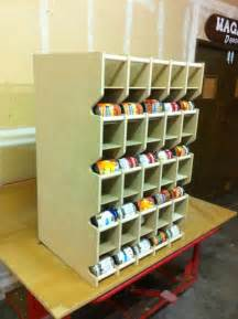 my next big project to tackle a can rotation shelf this