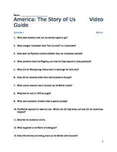 America The Story Of Us Revolution Worksheet by America The Story Of Us Homeschool