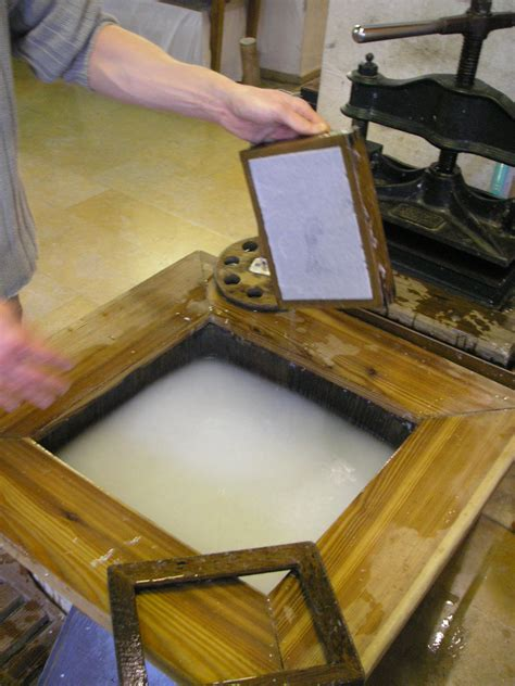 Handmade Paper Process At Home - papermaking