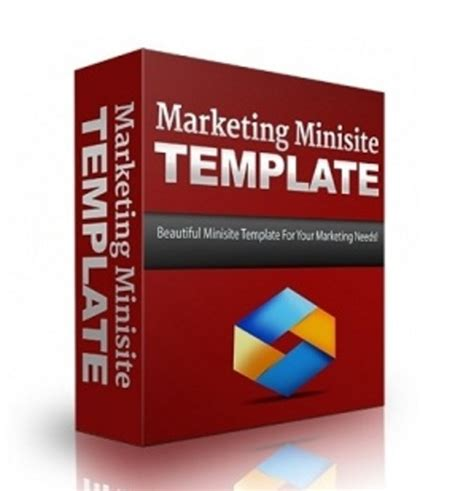 Minisite Templates marketing minisite template templates flash