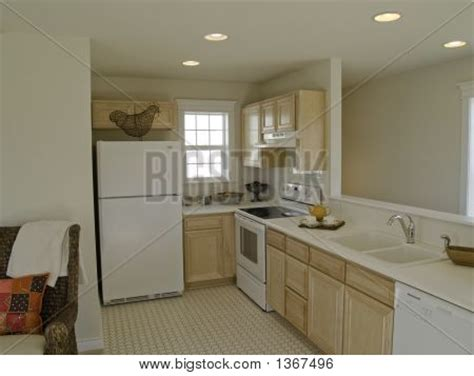 small apartment galley kitchen galley kitchen in small apartment stock photo stock