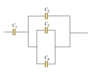 what is the capacitance of the capacitor mastering physics consider the combination of capacitors shown in th chegg
