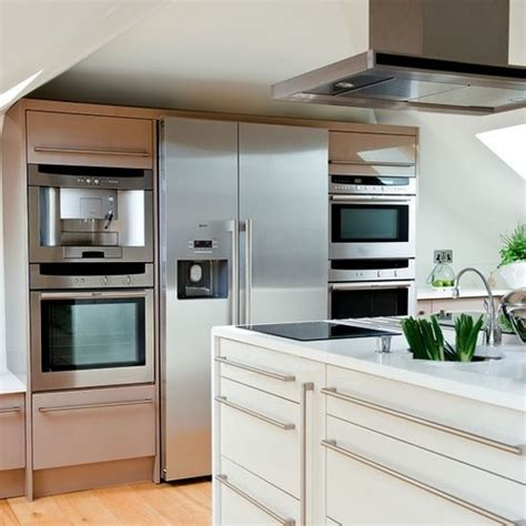 kitchen combo appliances kitchen appliances the large fridge freezer is flanked by