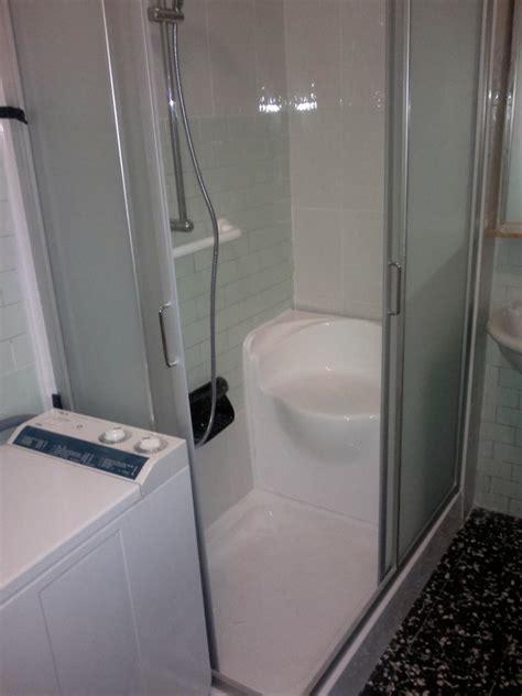 doccia al posto della vasca foto la nuova doccia al posto della vasca di idealnova