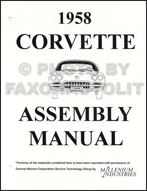 auto repair manual online 1958 chevrolet corvette electronic throttle control 1958 1959 1960 chevrolet cd repair shop manual car impala el camino corvette