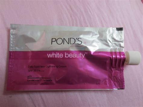 Fair And Lovely Foam Sachet pond s white daily spot less lightening review