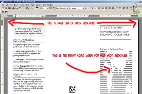 how to create a booklet on a mac youtube