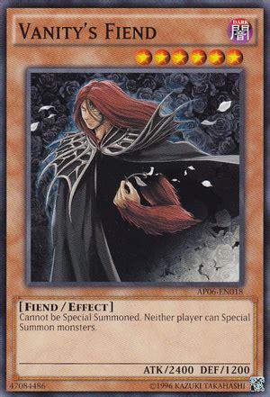Vanitys Fiend by Yugioh Dueling Network Lightxdark Top 10 Card S No