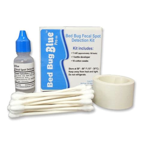 bed bug detection kit bed bug blue fecal spot detection kit