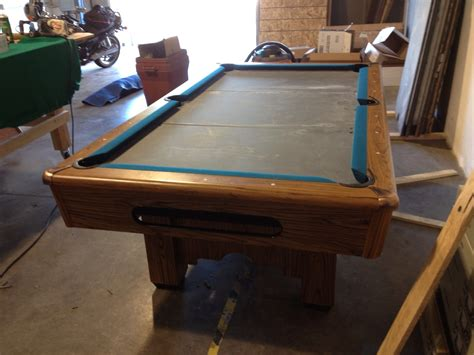 7 bar pool table 7 bar style pool table 850 delivered and installed