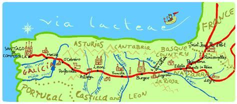 camino de santiago pilgrimage route camino pilgrimage route to santiago de compostela