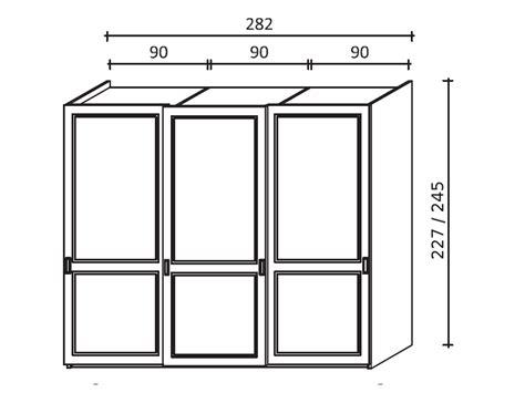 armadio ante scorrevoli legno armadio scorrevole a tre ante in legno