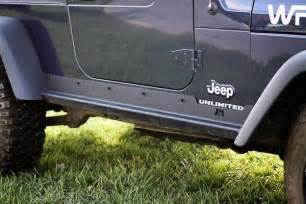 Jeep Rocker Panels Rugged Ridge 11504 15 Heavy Duty Rocker Panel Guards 97