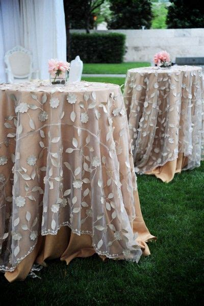 best 25 table covers ideas on wedding table