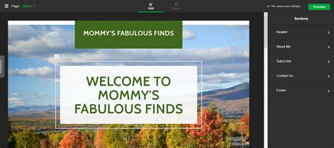 design menu godaddy how to make a website in less than an hour mommy s