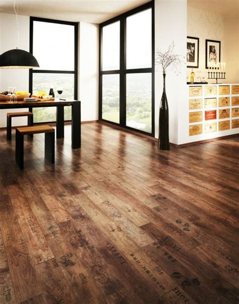 Dining Room Hardwood Floors Reclaimed Wood Flooring An Eco Friendly Option That