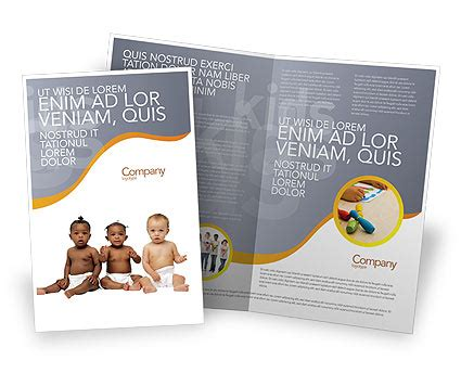 nursery brochure templates free nursery brochure template design and layout now