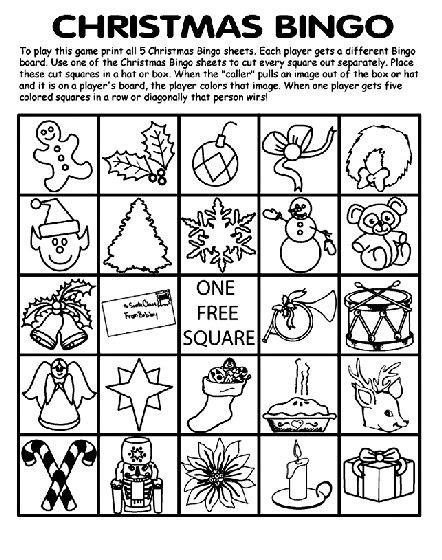 free printable christmas bingo cards adults 1000 images about free coloring pages on pinterest