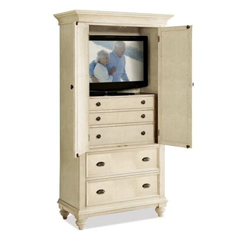 corner entertainment armoire riverside furniture coventry two tone armoire in dover